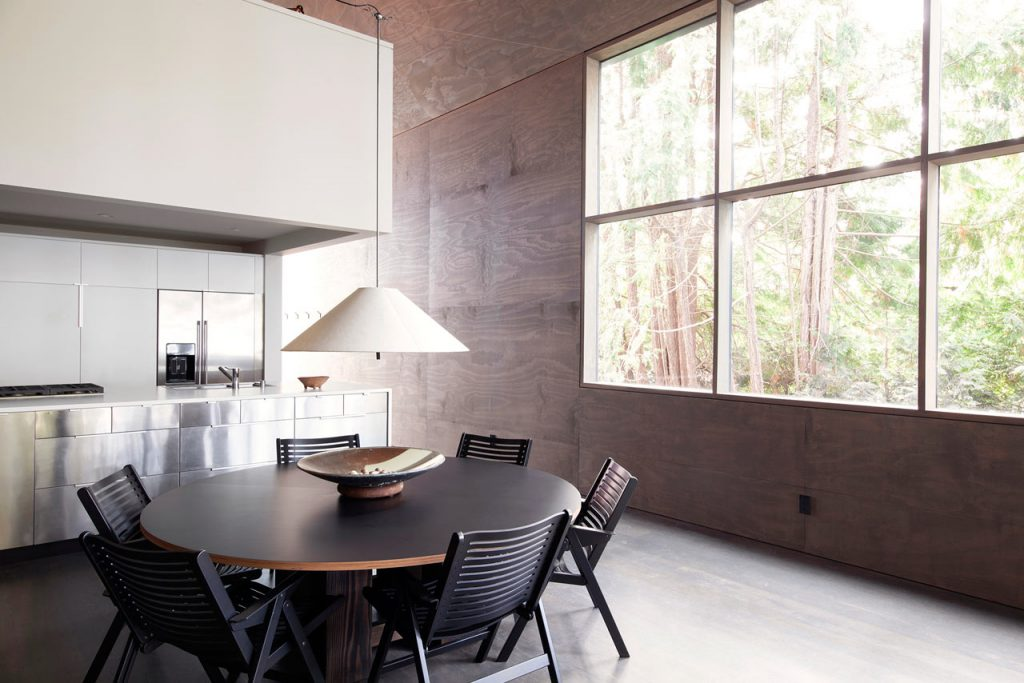 Minimalist Junsei House - Dining room