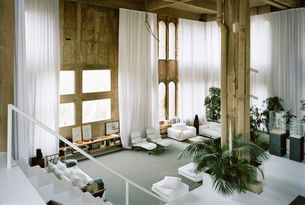 La Fábrica - living space