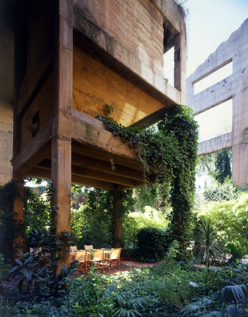 La Fábrica - the garden